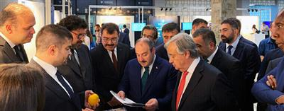 Visit from UN Secretary-General Guterres and Minister Varank