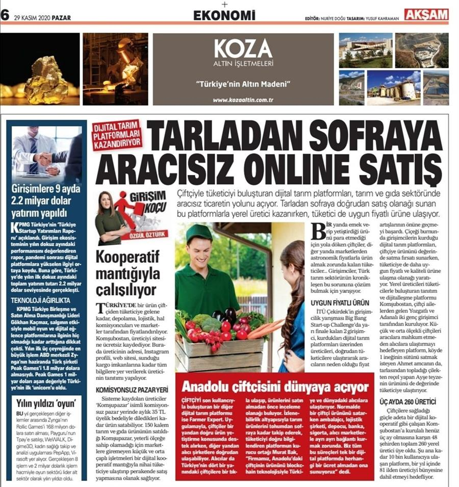 Aksam newspaper